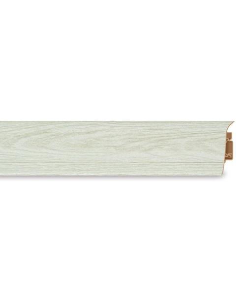 Плинтус ПВХ SD 60 232 Snow Oak